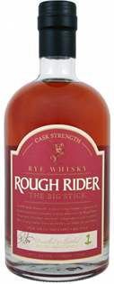 Rough Rider Rye Whisky Cask Strength The Big Stick 750ml